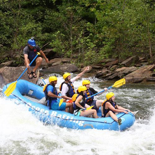 Ocoee Rafting Specials Raft Zip Combo