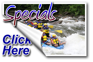 Ocoee Whitewater Rafting Special